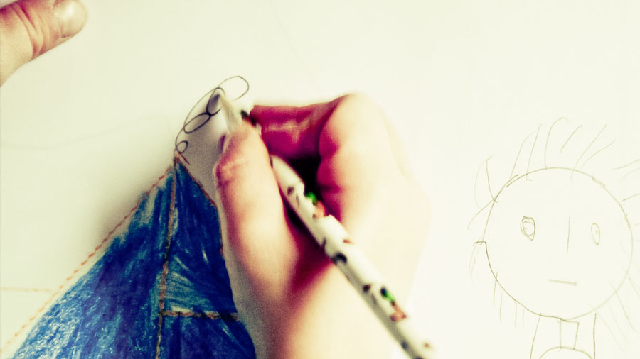 Want to Improve Your Kids' Writing? Let Them Draw